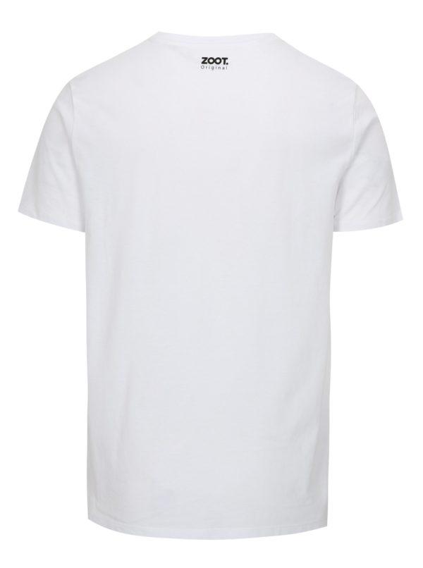 Biele pánske tričko ZOOT Original Offline