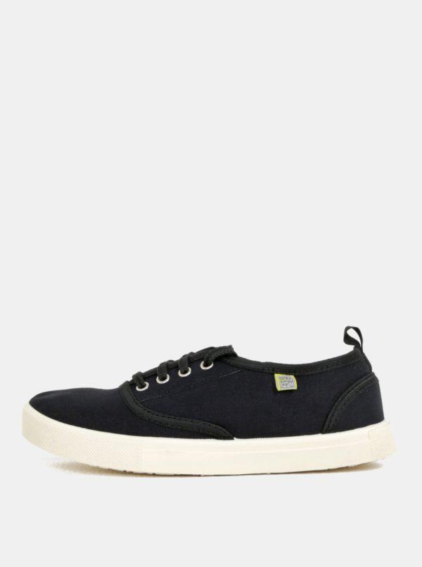Čierne plátené tenisky Oldcom Jersey