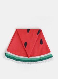 Zeleno-červená osuška s motívom melóna ZOOT