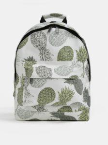 Biely batoh s motívom ananásov Mi-Pac Pineapple