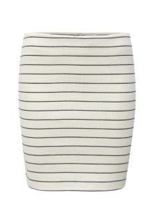 Biela pruhovaná sukňa VILA Tinny