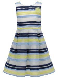 Bielo-modré pruhované šaty 5.10.15.