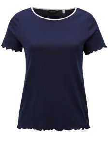 Tmavomodré tričko Dorothy Perkins Curve