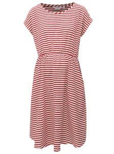 Bielo-červené pruhované tehotenské šaty s vreckami Dorothy Perkins Maternity