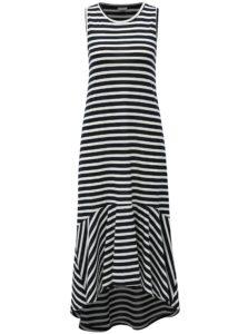 76af24246aa8 Bielo-modré pruhované šaty Jacqueline de Yong