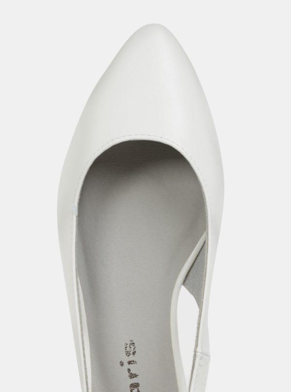 dbb3e4ecae179 Biele baleríny Tamaris | Moda.sk