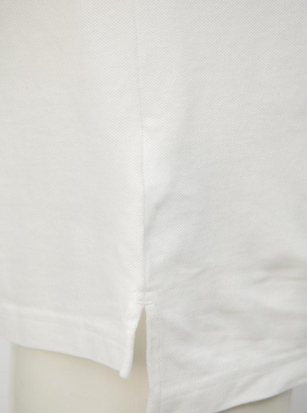 Biela pánska polokošeľa s potlačou Calvin Klein Jeans