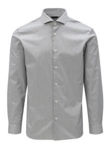 Sivá formálna regular fit košeľa Selected Homme Regsel