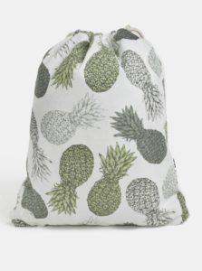 Krémový dámsky vak Mi-Pac Kit Bag Velvet