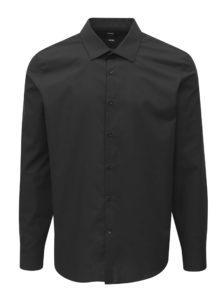 Čierna slim fit košeľa Burton Menswear London
