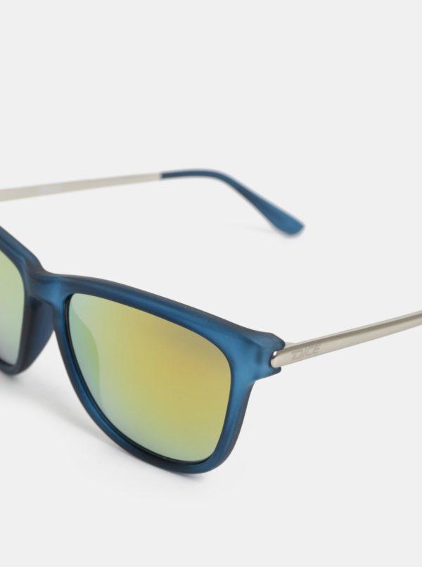 38f31a341 Modré pánske slnečné okuliare so zrkadlovými sklami Dice | Moda.sk