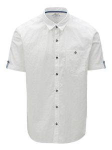 Biela pánska regular fit košeľa s krátkym rukávom s.Oliver