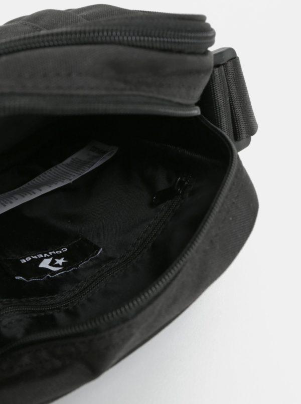 Čierna malá crossbody taška Converse Poly Cross Body
