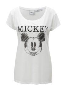 Biele dámske tričko s potlačou Haily's Mick