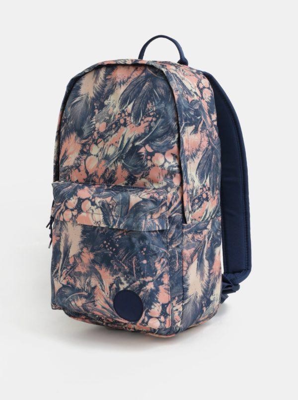 36cb171688 Ružovo-modrý dámsky vzorovaný batoh Converse EDC Backpack 19 l