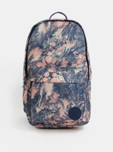 Ružovo-modrý dámsky vzorovaný batoh Converse EDC Backpack 19 l