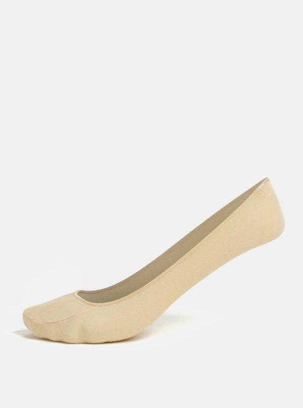 Súprava dvoch párov ponožiek v telovej farbe Andrea Bucci Fourth 42 DEN