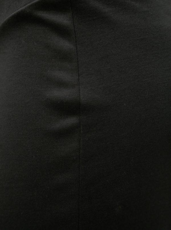 Čierne tehotenské zvonové nohavice Mama.licious Janette