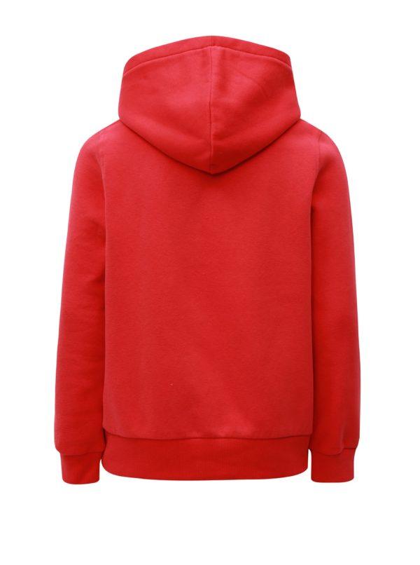 Červená chlapčenská mikina LIMITED by name it Mlasso