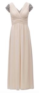 0e08aff030bd pastelové šaty empírového strihu so zvýraznenými rukávmi ...