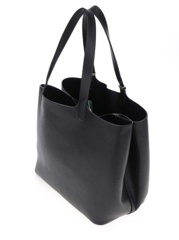 Čierny shopper 2v1 Pieces Kopa
