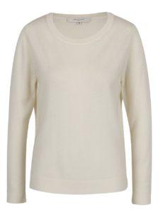 Krémový kašmírový sveter Selected Femme Aya