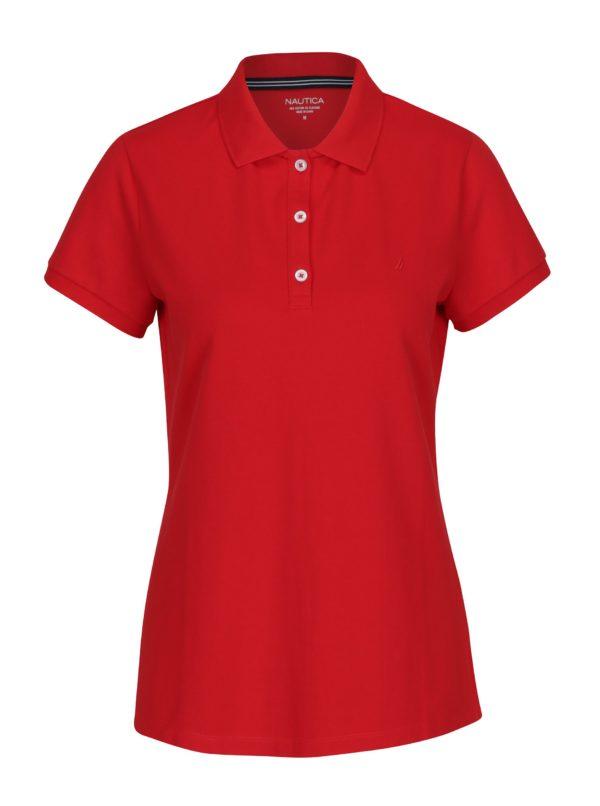 Červené dámske polo tričko Nautica
