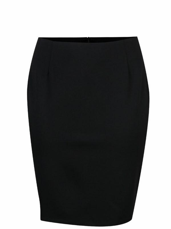 Čierna puzdrová sukňa La Lemon