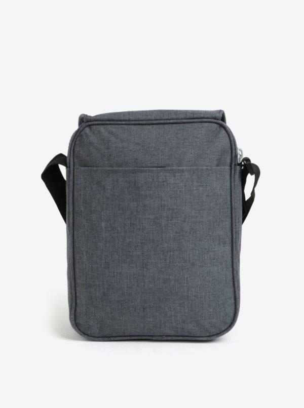 Sivá crossbody taška s chlopňou LOAP Flyer