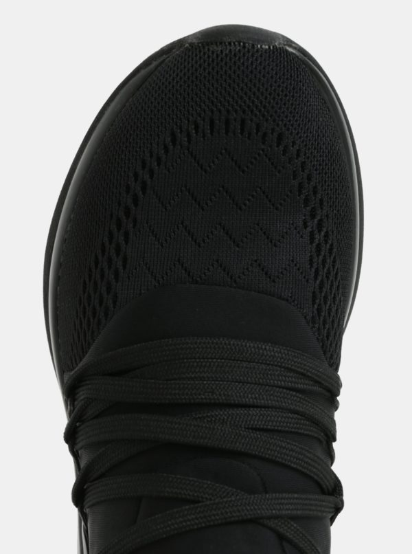 Čierne tenisky na platforme Tamaris