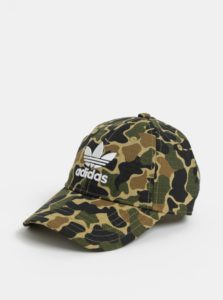 Zelená pánska maskáčová šiltovka adidas  Originals Camo