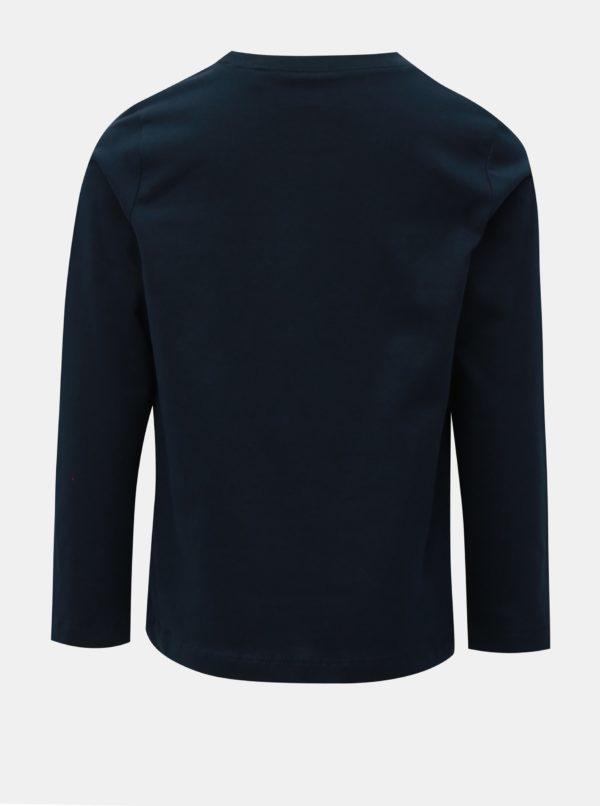 Modré chlapčenské tričko Name it