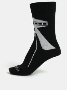 Čierne unisex ponožky Fusakle Bratislava UFO