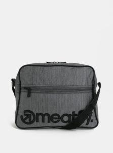 Sivá melírovaná taška cez rameno Meatfly Gerome