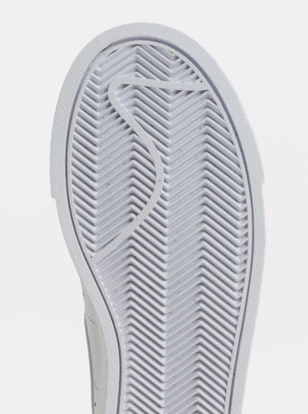 c19aa4e4ea07 Biele dámske kožené tenisky Nike Blazer Low Leather