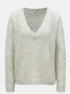 Světle zelený voľný sveter Jacqueline de Yong Ivy