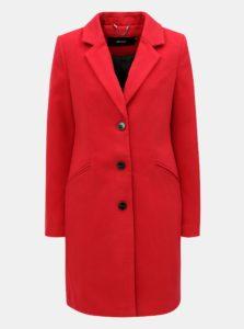 Červený kabát s vreckami VERO MODA