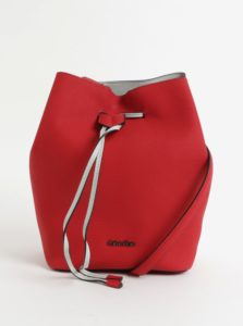 Červená veľká kabelka Calvin Klein Jeans