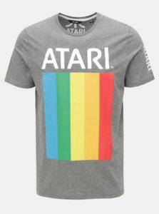 Sivé melírované tričko s potlačou ONLY & SONS Tari