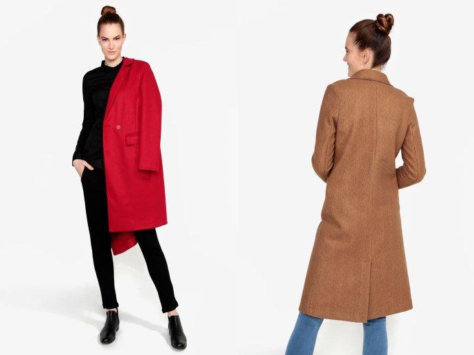 Elegantné kabáty