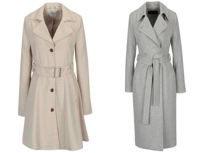 Dámske jesenné elegantné kabáty  98125d3acd1
