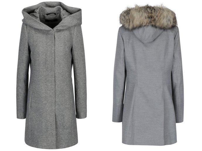 Jesenné kabáty s kapucňou