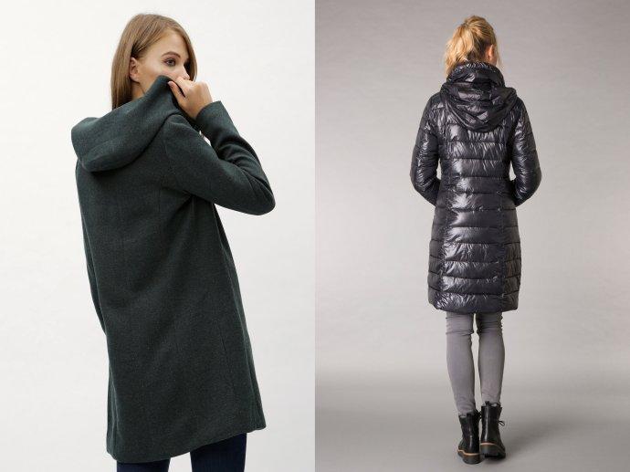 Kabáty s kapucňou