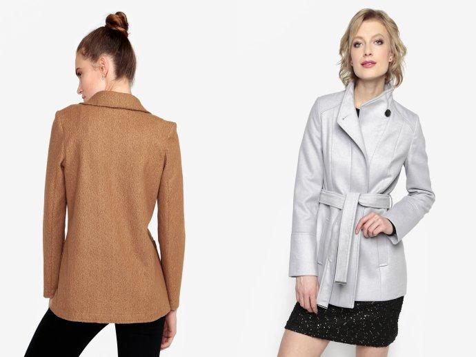 Krátke kabáty