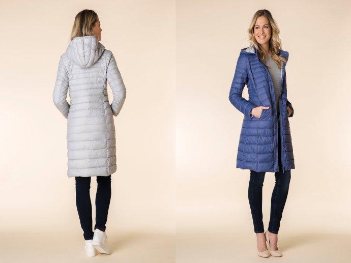 Prešívané kabáty