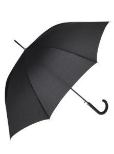 Čierny dlhý dáždnik Dice