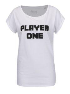 Biele dámske tričko s krátkym rukávom ZOOT Originál Player one