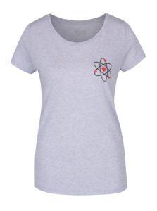 3f0db21e4539 Svetlomodré dámske žíhané tričko ZOOT Originál Atom