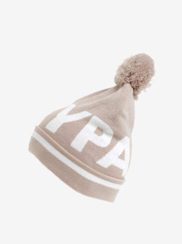 Béžová čiapka s logom Ivy Park