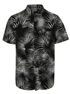 Bielo–čierna vzorovaná košeľa Burton Menswear London